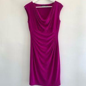 Lauren Ralph Lauren Dress Violet Purple Midi